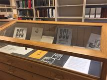 The exhibit can be found in room 146 of the Main Library from from December 2, 2016 through January 31, 2017.