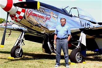 Richard Toepfer with Glamorous Gal in Oshkosh