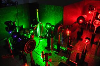 Laser optics for 'Super Resolution Fluorescence Microscopy Advanced Module' in 2011 CPLC Summer school.