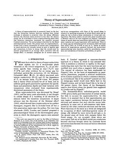 BCS Title Page of Physical Review article