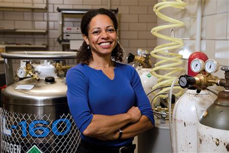 Nadya Mason, professor of physics, is the Director of the $15.6 million Illinois Materials Research Center.
