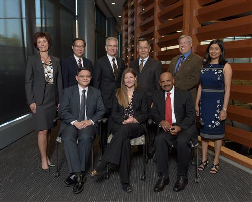The 2017 ECE ILLINOIS Alumni Award winners.