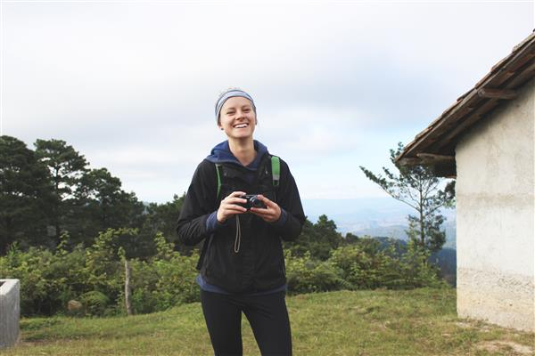 Jahnke in Honduras co-leading a trip for the Honduras Water Project.