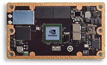 The Jetson TX2 module NVIDIA provided to all teams.