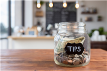 As the conventional tip rate hits 20 percent and beyond, research indicates that the practice may become economically detrimental to restaurants. (Stock photo)