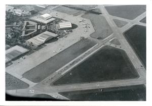 Arial View of Chanute Air Force Base, 1981, courtesy of the Urbana Free Library
