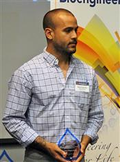 Gelson Pagan Diaz received the Bioengineering Student Leadership award.