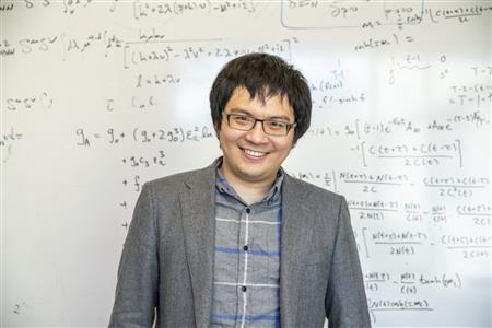 Chia Cheng 'Jason' Chang, Physics Illinois alumnus,  is the lead author in a study describing the supercomputer-intensive calculation of a property known as the nucleon axial coupling. He completed the work as a Berkeley Lab postdoctoral researcher. He currently holds an appointment as a research scientist at RIKEN. Photo by Marilyn Chung, courtesy of Berkeley Lab