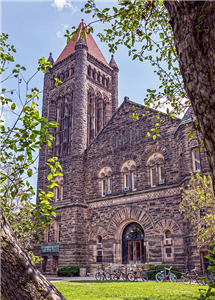 In addition to a new data science center, campus plans to renovate Altgeld Hall. (Campus photo.)