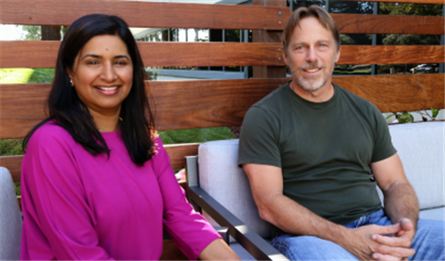 Sundari Mitra NetSpeed's co-founder and CEO (left) Picture cred: EE Times and Intel