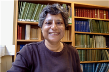 Rini Mehta, professor of comparative and world literature, is developing an interface to explore the history of Indian cinema. (Image courtesy of Rini Mehta.)