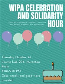 WIPA Celebration and Solidarity Hour October 3, 2018