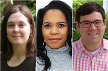 Melissa Bowles, Ruth Nicole Brown, and Eric Calderwood have been selected as Conrad Humanities Scholars.