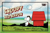 The Red Baron has become famous in modern culture in large part through his portrayal in Peanuts comics. (Image copyright Peanuts Worldwide LLC)