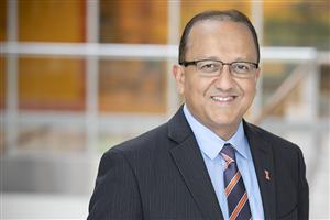 Bioengineering Professor and College of Engineering Dean Rashid Bashir