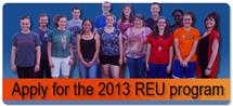 Our 2012 REU students.