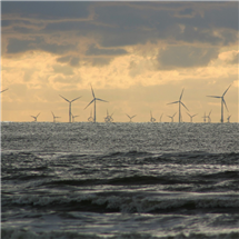 Banerjee and Huynh used offshore wind in their award-winning system as a competitive source of energy