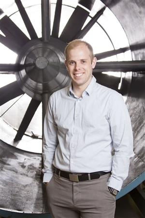 Phillip Ansel, Assistant Professor of Aerospace Engineering