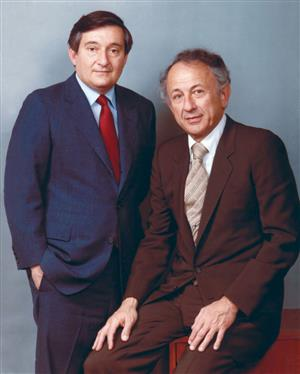 Mickey Kupperman, left, and Sidney Epstein