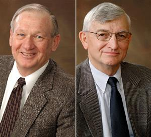 Barry J. Dempsey, left, and Marshall R. Thompson