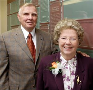 William J. and Elaine F. Hall