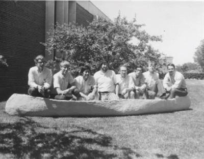 Illinois' first concrete canoe team