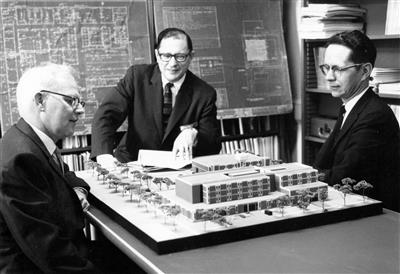 Civil Engineering Building Model, 1966