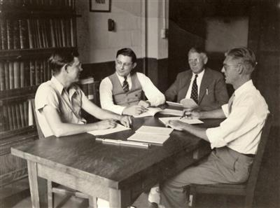 Project Conference in Talbot Laboratory, 1939