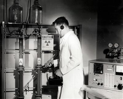 Unidentified Laboratory Worker