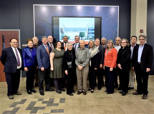 Many generous donors to the Modernization project attended the ceremony.