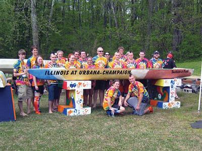 Concrete Canoe team, 2008