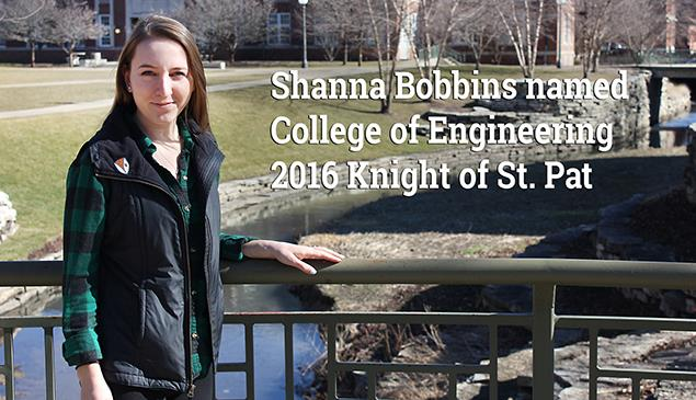 Bobbins Chosen as Knight of St. Pat