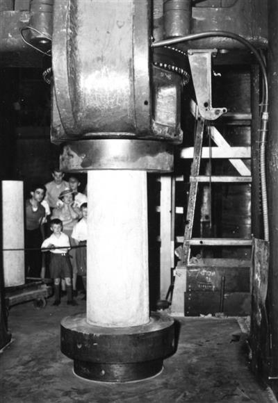 Children at Civil Laboratory, circa 1955