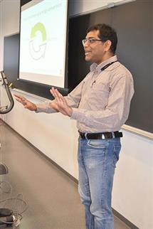 Arijit Banerjee discusses electromechanical energy conversion with the educators.