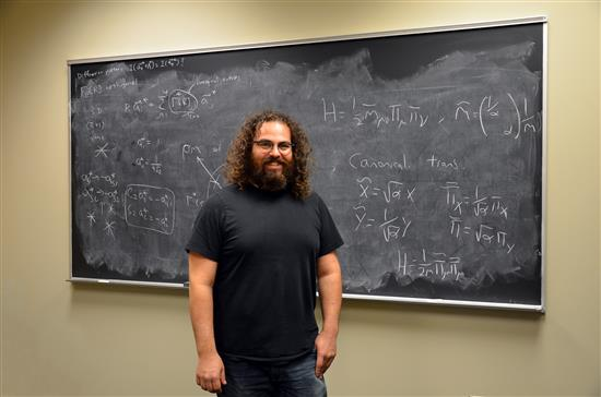 Illinois Physics Professor Barry Bradlyn. Photo by Siv Schwink/Illinois Physics