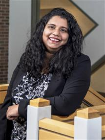 Ananya Cleetus, Fiddler Innovation Fellowship 2020 Winner. Junior, Computer Science, Grainger College of Engineering
