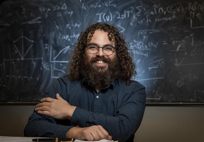 Illinois Physics Professor Barry Bradlyn. Photo by Fred Zwicky, University of Illinois at Urbana-Champaign