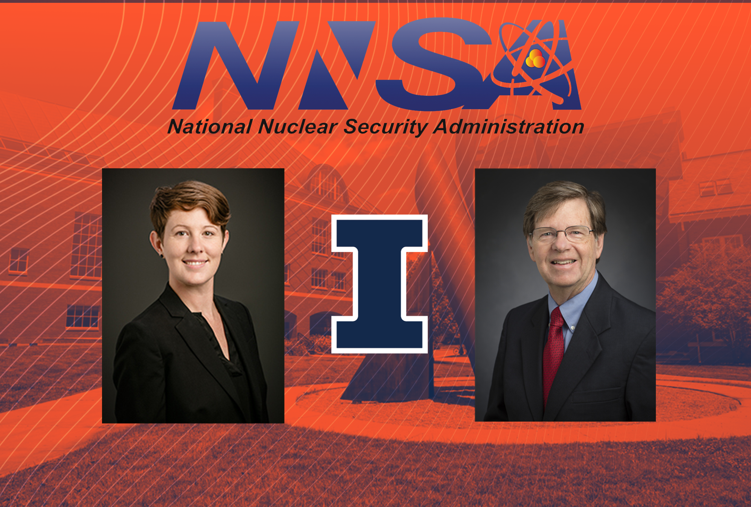 Huff, Stubbins to lead UIUC's work in new DOE consortium
