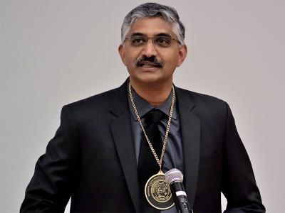 Vikram S. Adve was invested as the Donald B. Gillies Professor in Computer Science on March 28, 2018.