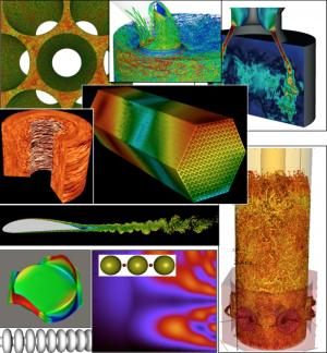 A collection of simulation results using NekCEM/Nek5000, the R&D 100 award winner.