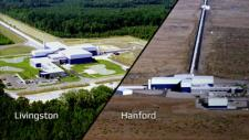 The LIGO detectors in Livingston, Louisiana, and Hanford, Washington, separated 1,865 miles. It took about 7 milliseconds for the gravitational wave to cover the distance between the two.
