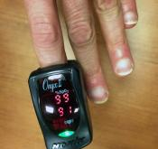 The ability to accurately measure oxygen saturation without the use of a pulse oximeter is something that has never been achieved, until now. The pulse oximeter, a non-invasive medical device usually placed on the patient's finger, measures the proportion of oxygen in the blood, combining status of the two major circulatory systems, the heart and the lung.