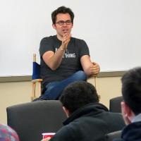 Roger Dickey (BS CS '0f5) held a question and answer session as part of his time as an Engineering in Residence in CS @ ILLINOIS.