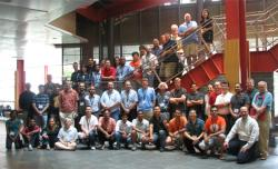 Participants in the 2010 UPCRC Illinois Summer School in Multicore Programming