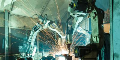 Image of robotic welder