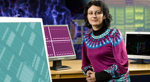 Prof. Olgica Milenkovic has developed new mathematical models to predict viral spreading patterns and help develop better vaccines.