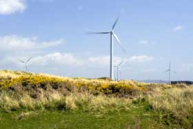 Wind turbines will play an important role in energy sustainability in the future.