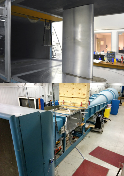 subsonic lab wind tunnels