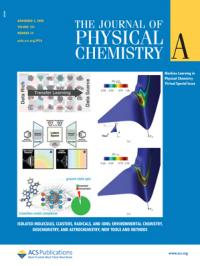 Cover of The Journal of Physical Chemistry