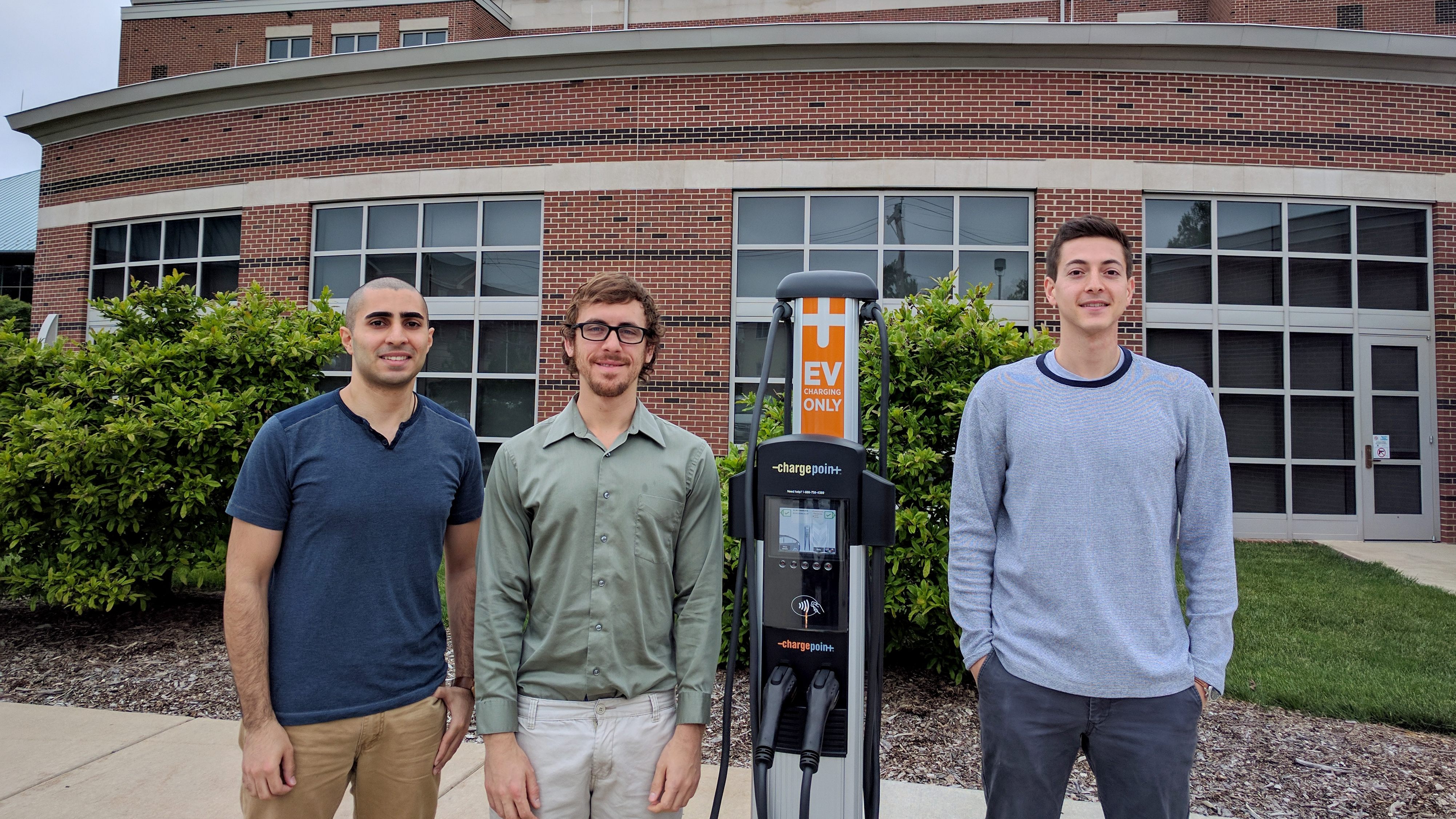 Energy Systems team proposes additional charging stations to increase electric vehicle usage on campus